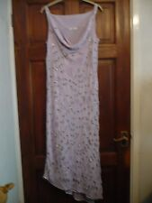 BERKERTEX HEAVILY BEADED and EMBROIDERED DRESS sz 12 BNEW
