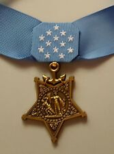US Navy MEDAL OF HONOR and RIBBON  - Full Size - American WW2 Replica Award