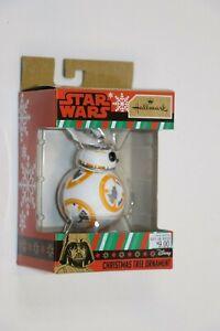 Hallmark Disney STAR WARS BB-8 Christmas Tree Ornament Great Gift NEW SHIPS NOW