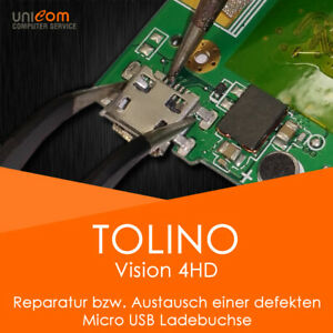 ⚡ REPARATUR Austausch Micro USB Ladebuchse Port eBook Tolino Vision 4 HD 4HD