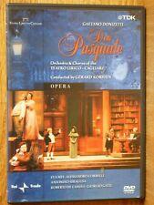 Gaetano Donizetti - Don Pasquale Opera DVD Teatro Lirico di Cagliari Korsten TDK