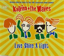 Maxi CD-Katrina + the waves-Love shine a light - #a2182