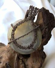 Handmade Agate Bronze Costume Jewellery