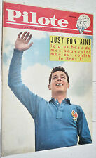 PILOTE EO N°55 10/11 1960 PILOTORAMA POSTE 1775 ASTERIX JUST FONTAINE FOOTBALL