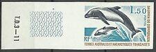Taaf Fsat Polar Marine Life Skunk Panda Piebald Dolphin Imperforate Proof **1976