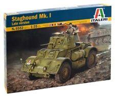 Italeri 1/35 Staghound Mk. I Late Version Plastic Model Kit 6552 ITA6552