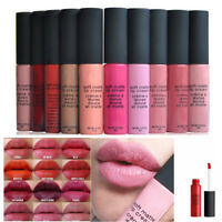 Liquid Lip Gloss Matte Lipstick Waterproof Long Lasting Cosmetics Make up Li