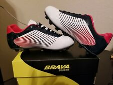 0afe001a0 Brava Youth Fighter Soccer Shoes w  Molded Cleats SIZE 1.5 Red