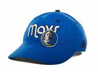 Dallas Mavericks Adidas Blue Slouch Cap NBA Adjustable Hat