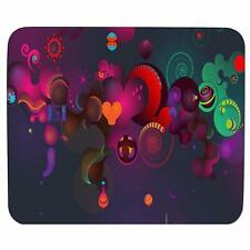 Music Color Sound Mouse Pad Rectangular Rubber Antiskid Mousepad For Laptop