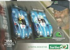 PESCAROLO SPORT C60 le mans 24 H 2006 PROMO Hero Carte Photo brochure