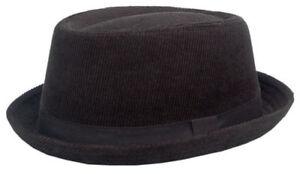 Cool4 CORD PORK PIE HUT VINTAGE SKA Porkpie Hat Rocky Breaking Bad PP06