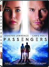 Passengers (DVD 2016) NEW* Adventure, Drama, Romance*