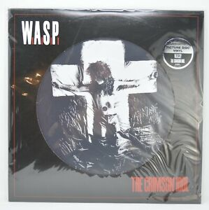WASP • The Crimson Idol • PICTURE DISC rare vinyl record LP OOP Brand New SEALED