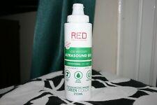 Red Medical Supplies Ultrasound Gel Low Viscosity Green 250ml Fetal Doppler Tens