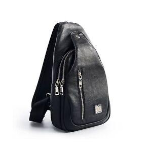 Sling Bag Chest Shoulder Backpack Crossbody Bags for Men Women Travel Outdoor...