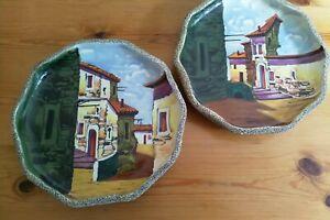 Pottery wall plaques Portuguese