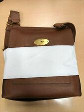 New & Genuine Mulberry Antony Messenger Oak Natural Grain Leather HH4578-346G110