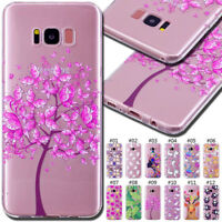 For Samsung Galaxy S8 Silicone TPU Rubber Soft Back Skin Protective Case Cover