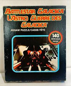 Battlestar Galactica 140 Piece Jigsaw Puzzle - F2606 [ Original 1970s Complete ]