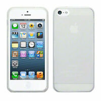 Fitted Clear TPU Gel Cover For iPhone 5/5S/SE Hard Silicone Case