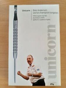 Bob Anderson Unicorn World Champion tungsten darts  20g 90%