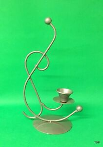 Candle Holder Note 28 CM Large Forged Metal Lights Cheap