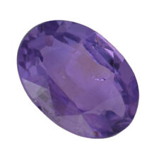 Oval Sapphire Medium Beautiful Purple with a few Red Flashes 0.81 Ct