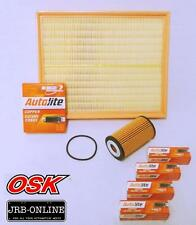 HOLDEN AH ASTRA PETROL 1.8L Z18XER OIL AIR FILTER SERVICE KIT+SPARK PLUGS  07-10