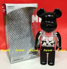 Medicom Be@rbrick My First Baby 400% 3rd version Black & Silver Bearbrick 1P