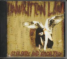 UNWRITTEN LAW Starships and Apocalypse PROMO CD Single