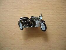 Pin Dnepr Gespann schwarz black Motorrad Art. 1060 Seitenwagen Sidecar Beiwagen