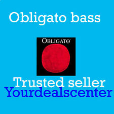 Pirastro Obligato Bass G String 3/4 Orchestra Medium