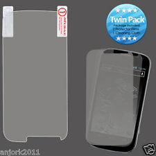 Sprint Flash ZTE N9500 Ultra Clear Screen Protector+Cleaning Cloth Twin Pack