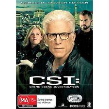 CSI:Crime Scene Investigation-Season 15-Region 4-New Sealed-5 Disc Set-TV Series