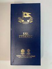 ARTHUR PRICE OF ENGLAND TITANIC CUTLERY - PIE KNIFE