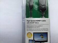 Belkin HDMI to Micro HDMI Cable 2 M Gold Plated -New -  No Packaging