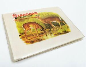 Vintage Retro 1980s Singapore Standard Photo Pte Ltd Deers 3R Photo Album