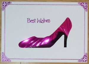 DeeCraft Iris Folding Card Pack - Shoe