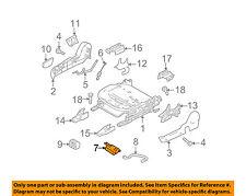 MAZDA OEM 11-13 3 Seat Track-Occupant Sensor Right BCN167SW0A