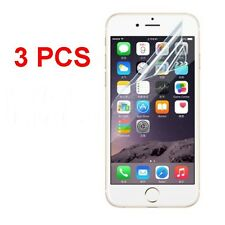 3PCS Clear Front Screen Protector Film Foil Guard Reusable For APPLE IPHONE Hot