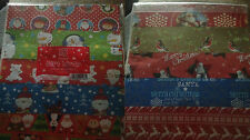 15 ASSORTED SHEETS CHRISTMAS GIFT WRAPPING PAPER NO ROLL