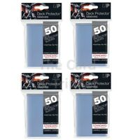 ULTRA PRO 50CT CLEAR STANDARD DECK PROTECTOR SLEEVES #82667 NEW 600 SLEEVE 12