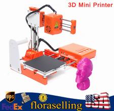 EasyThreed 3D Mini Printer Desktop DIY 3D Printers for Kids High Precision Gift