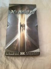 X-Men VHS 2000 Futuristic Bryan Singer PG-13 Patrick Stewart Sci-Fi Fantasy