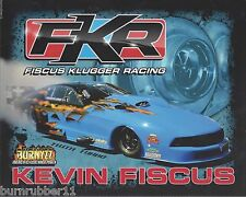 """2015 KEVIN FISCUS /""""2012 FORD MUSTANG/"""" PRO MODIFIED NHRA POSTCARD"""