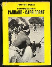 FRANCOIS BALSAN EXPEDITION PANHARD AFRIQUE DU SUD SIGNATURE AUTEUR ? 1952