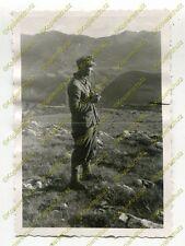 Foto, Gebirgsjäger, Raucherpause bei Šavnik, in Montenegro, d (W)1844