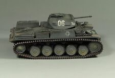 1/30 prebuild WW2 German Panzer II Ausf F with metal track and metal wheels