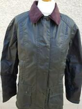 NEW Womens BARBOUR Beadnell Waxed Jacket Sage Green Size USA 4, 6, 8 and 10
